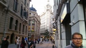 Downtown Santiago. Bolsa de Comercio