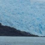 Glaciers are deep blue