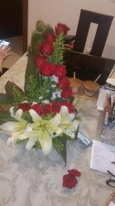 Ecuadorian rose  $5 arrangement